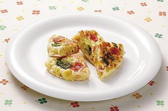 カラフル野菜のふんわりケークサレ