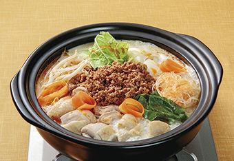 豆乳タンタン鍋