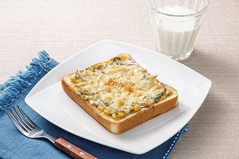 しらすの味噌マヨトースト