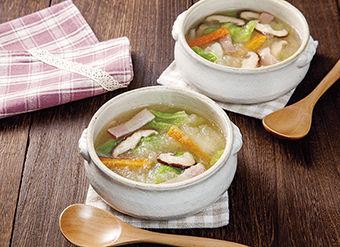 白菜のみぞれスープ