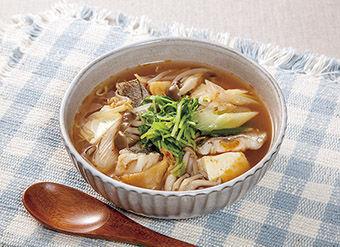 たらのチゲ風スープ煮