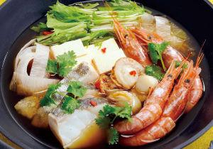 中華風海鮮鍋