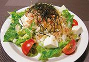 白菜で和風シーザーサラダ