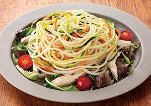 3種の野菜のベジヌードルサラダ