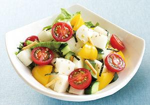 夏野菜の和風サラダ