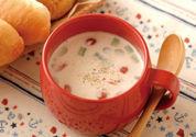 アスパラとトマトのレンジカップスープ