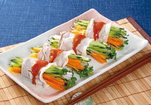 さっぱり豚肉野菜ロール