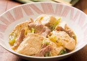 ねぎ肉豆腐