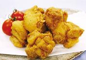 鶏もも肉のから揚げ カレー風味