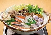 〈減塩レシピ〉秋の味覚たっぷり 海鮮鍋